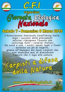 Locandina Giornata Ecologica nazionale 2015