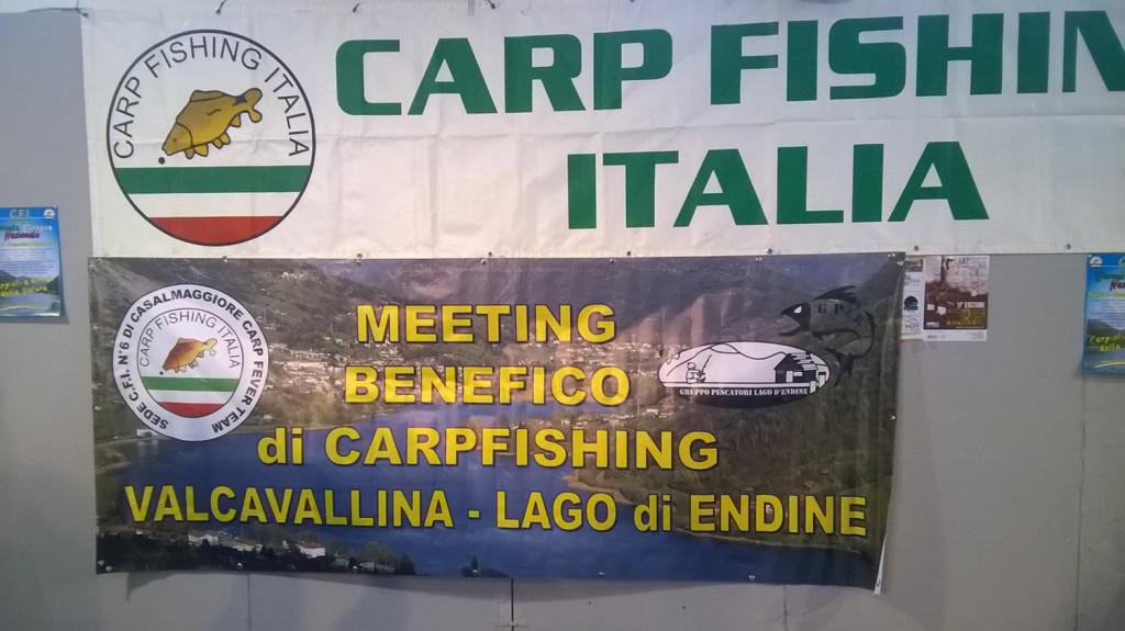 meeting benefico Valcavallina di carpfishing