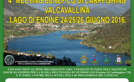 QUARTO MEETING BENEFICO VALCAVALLINA
