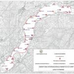Cartina Postazioni 18a Maratona Linea Catture
