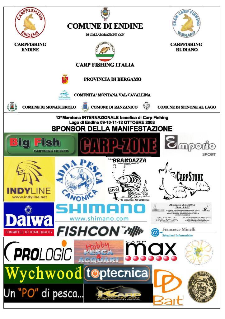 12 Maratona Internazionale Benefica 2008
