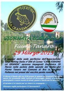 Giornata Ecologica 2015 Sede 206 Carpfishing La Granda Cuneo