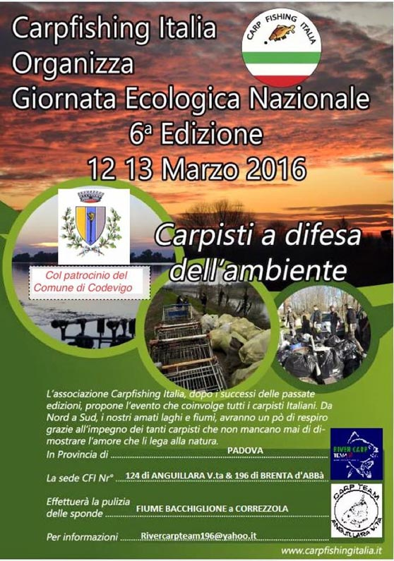 Giornata Ecologica 2016 Sede 124 Sede 196
