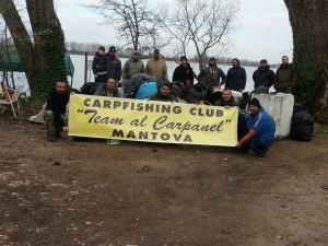 Team Al Carpanel Giornata Ecologica 2016