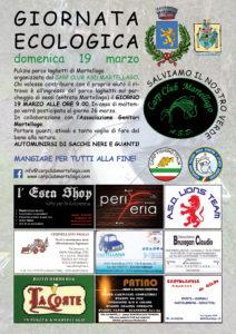 Giornata Ecologica 2017 sede 251 ASD Carp Club Martellago