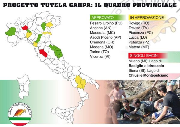Progetto Tutela Carpa Quadro Provincial