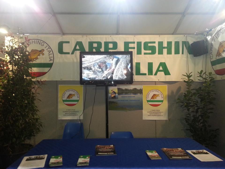 Carpfishing Italia stand-cfi