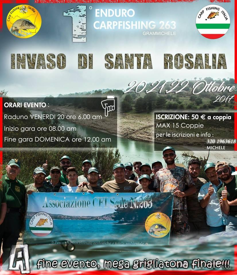 1° enduro sede cfi nr 263 Grammichele lago Santa Rosalia