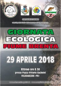 Giornata ecologica 2018 Sede CFI 244 Elementi Negativi Carp Team