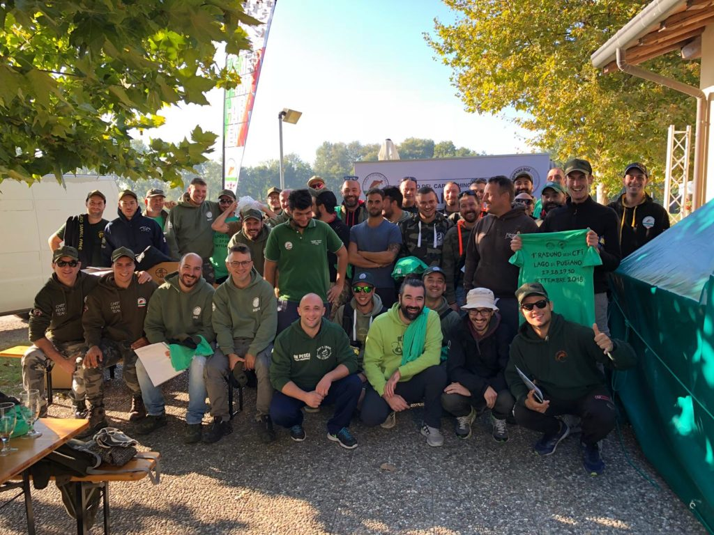 1° Raduno del Carpfishing Italiano