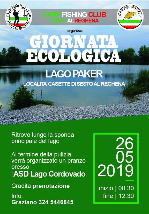 Giornata Ecologica 2019 Sede NR 276 Carpfishing club Sesto al Reghena
